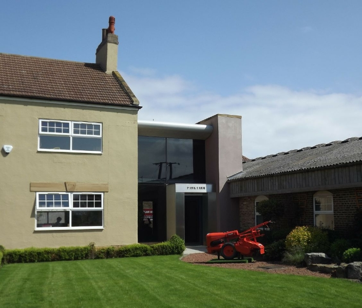 New Reception Area & Offices Cleveland Land Services North Yorkshire